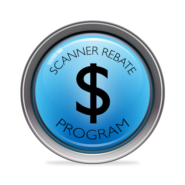 Scanner Rebate Program